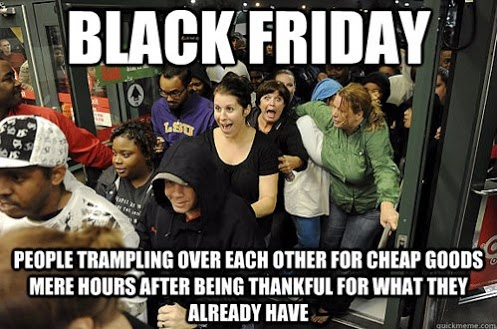 Why You DON'T Shop Black Friday