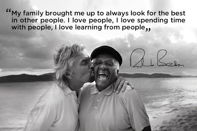 Branson and Bishop Desmond Tutu