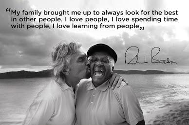 Branson and Bishop Desmond Tutu