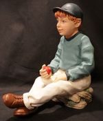 Statute of Young Boy