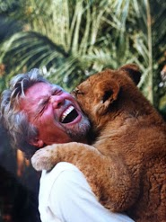 Branson with Bear