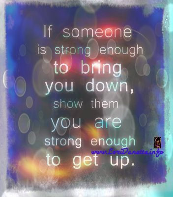 If Someone is Strong Enough