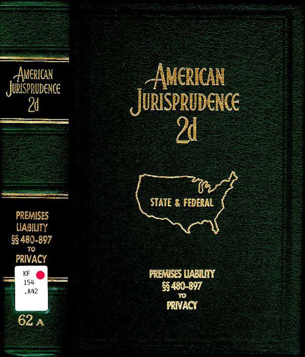 AM JUR System of American Jurisprudence