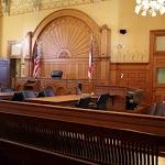 Courtroom Scene
