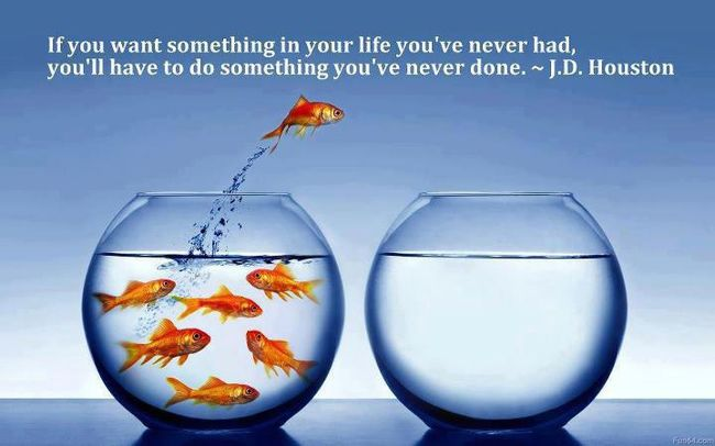 If you want something you've never had