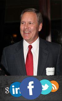 Mitch Jackson Red Tie Social Media