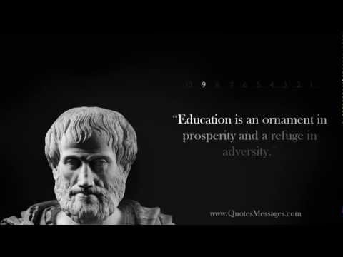 EDUCATION ORNAMENT AND REFUGE IN ADVERSITY