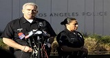 LAPD AT NEWS CONFERENCE 160X85