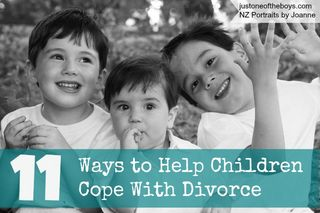 DIVORCE - 11 WAYS KIDS CAN COPE