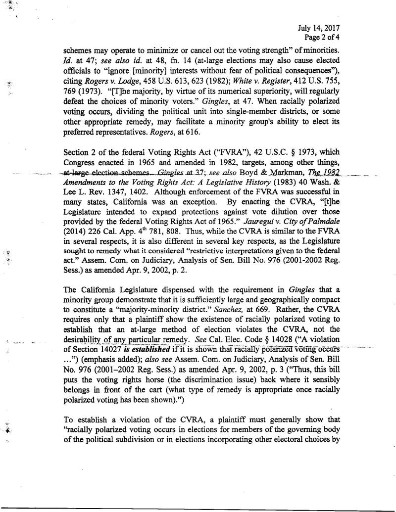 Pg 2  Tehachapi  Shenkman Threat To Sue Letter