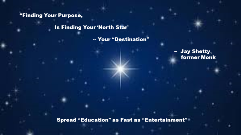 Your Purpose is your North Star